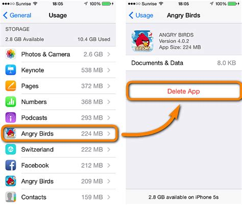 delete data from iphone how to delete iphone apps