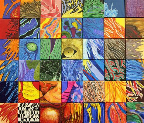 grade collaborative art project crestwood