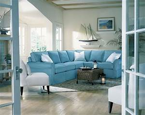 Teal room ideas decorating your new home together for Beach themed living room furniture
