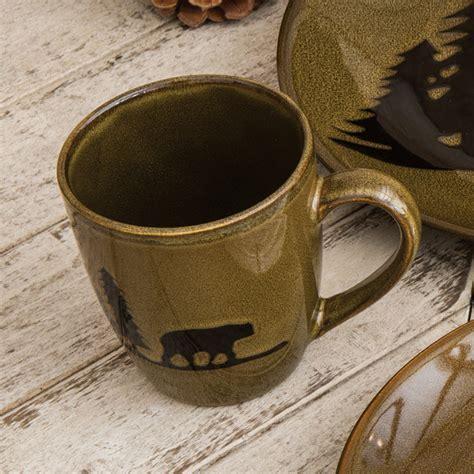 Bear Lodge Stoneware Mug