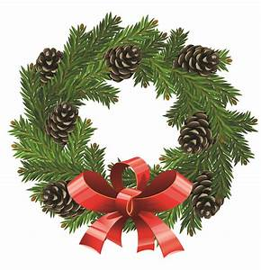 Christmas wreath 1 vector Free Vector - ClipArt Best ...