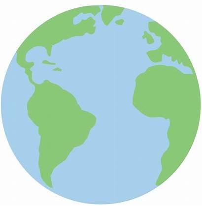 Clipart Earth Planet Clip Pastel Powerpoint Advertisement