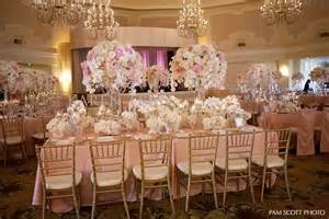 crown centerpieces blush pink vintage wedding the hotel coronado