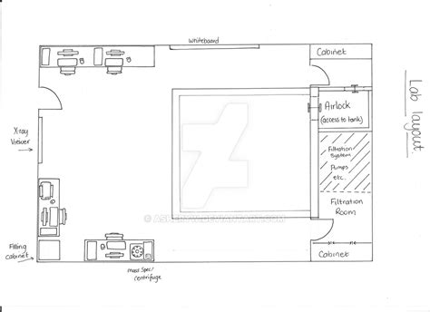 Lab Layout For 'captured' Comic Strip By Asheryw On Deviantart
