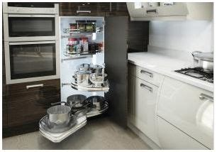 kitchen corner unit storage solutions kitchen corner storage solutions turnmotion lemans 8249