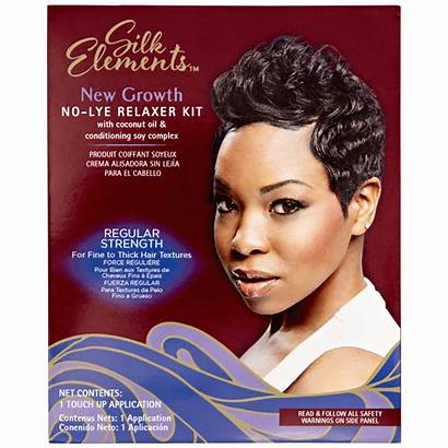 Relaxer Lye Growth Silk Kit Chemical Services