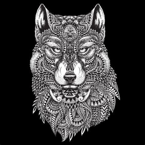 tribal wolf duvet cover sharp shirter