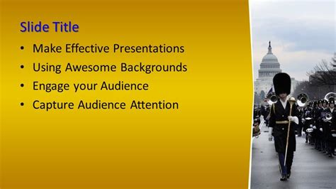 brass band powerpoint template  powerpoint