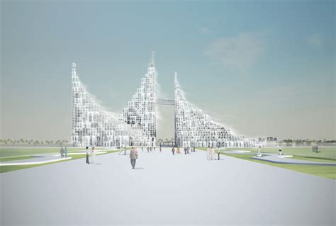 master plan particles  light  sou fujimoto architects