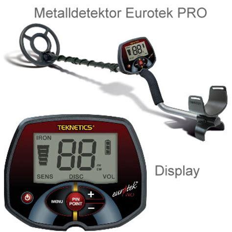 teknetics eurotek pro lte profipaket metalldetektor