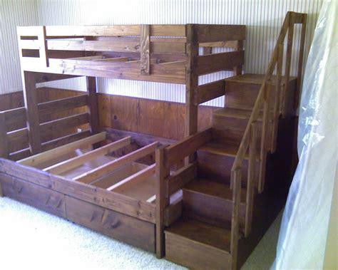 colorado stairway bunk bed bunk beds computer desk bowed