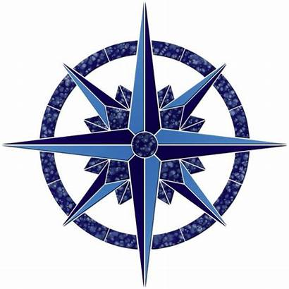 Medallion Compass Pool Medallions Mosaic Mosaics Save