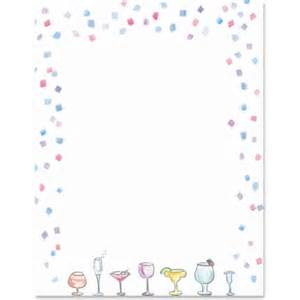cocktails border papers paperdirect