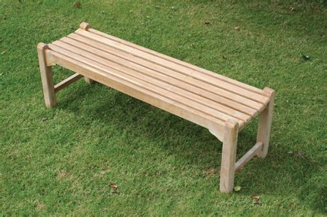 backless bench simple bench additional seating