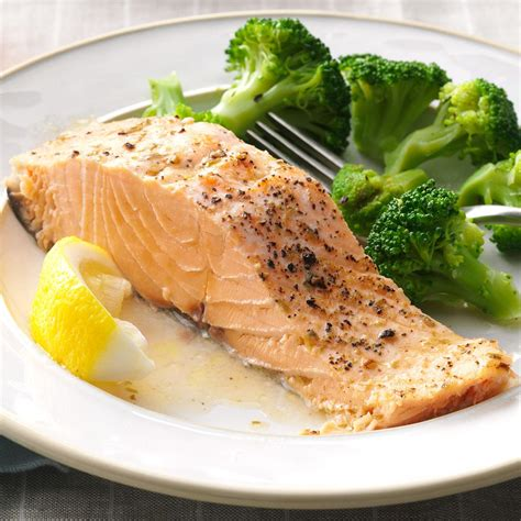 baked salmon recipes baked salmon recipe taste of home