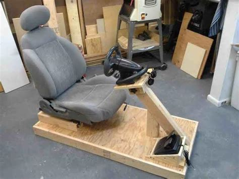 how to build your own kick racing simulator