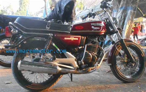 Modifikasi Motor Gl 100 by Modifikasi Honda Gl 100 Marem Motor