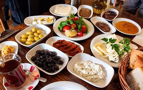 Delicious Turkish Breakfast Dishes!  Picture Of Kervan