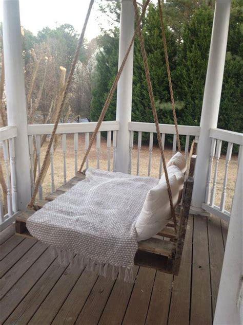 diy pallet swing bed pallet furniture diy