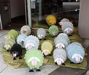 Cardboard sheep or animals for my store pinterest for Cardboard sheep template