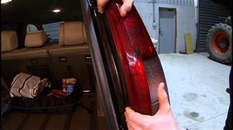 How To Remove Rear Light Cluster and Change brake ...