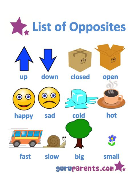 list opposites for preschoolers printable worksheets 627 | 2407bc45408a578d9e37f3a46a0fa834