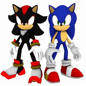 Sonic and Shadow by Mike9711 on DeviantArt