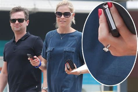 Declan Donnelly and new fiancee Ali Astall get some bush ...