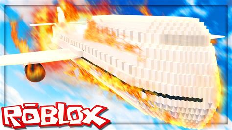 roblox adventures survive  plane crash  roblox