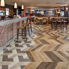 Resilient Vinyl Flooring For Commercial Applications