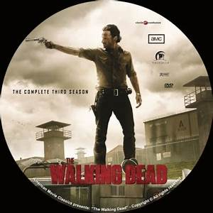 The Walking Dead Season 3 DVD Covers Labels By CoverCity
