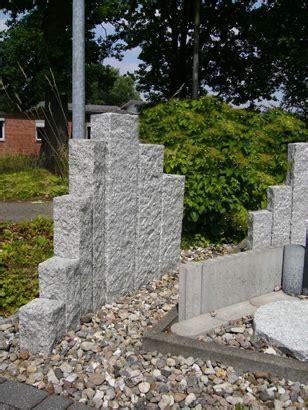 palisaden beton rotbraun palisaden rebmann betonsteinwerk norderstedt