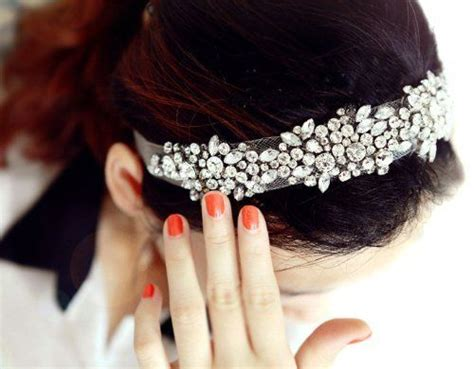 Wedding Accessories For Girls : 1000+ Images About Headband Bride On Pinterest