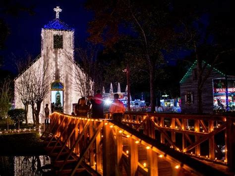 acadian village christmas lights lafayette la louisiana is ready to get you in the spirit