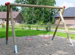 Kinderschaukel Holz Selber Bauen : spielplatz schaukel kinder erwachsene holzschaukel h 275 cm doppelschaukel en 1 ebay ~ Markanthonyermac.com Haus und Dekorationen