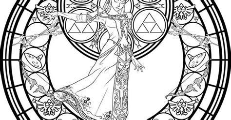 Stained_glass__zelda__coloring_page__by_akili_amethyst