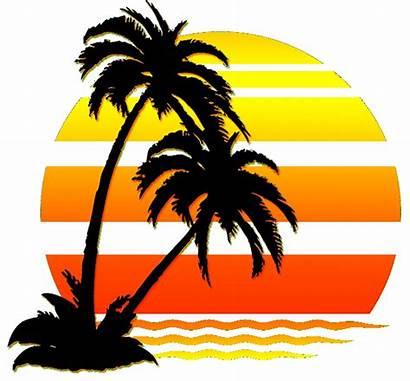 Clipart Sunset Playa Sol Transparent Puesta Del