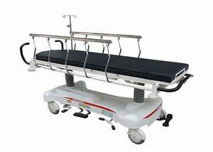 Luxury Hydraulic Rise And Fall Stretcher Bed  Als