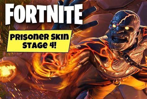 fortnite prisoner stage  skin unlocked heres