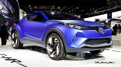 Update1 With 30 New Photos 2018 Toyota C Hr Concept