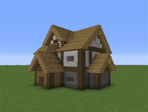 medieval middle class house  blueprints  minecraft houses castles towers