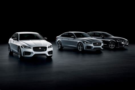 jaguar xe  xf  sport models revealed evo