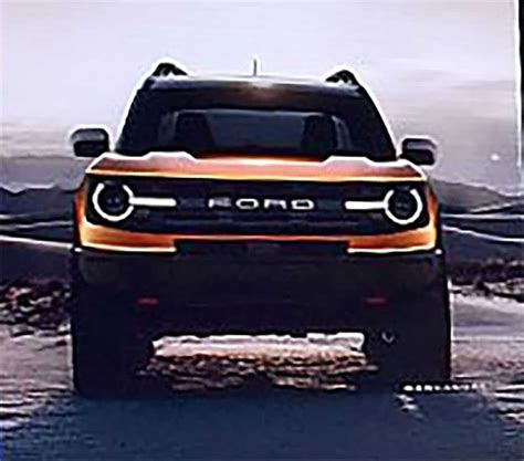 Ford Bronco 2020 by Ford Bronco 2020 233 Revelado Em Conven 231 227 O De