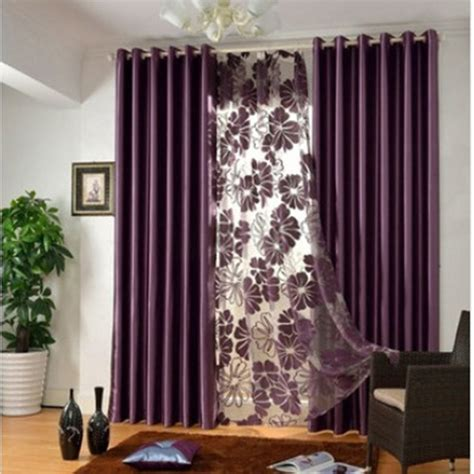 Window Curtains by Modern Well Made Funky Window Curtains In Purple
