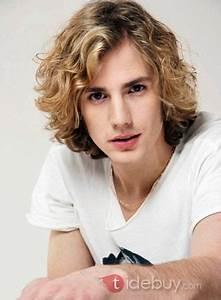 Coiffure D Homme : perruque ind tectable de cheveux humain moyen boucl blond 10 inches cool coiffure d 39 homme ~ Melissatoandfro.com Idées de Décoration