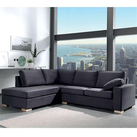 tres grand canapé d angle le canapé d angle très grand confort en retour gauche ou