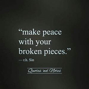 176 best Quotes... Broken Peace Quotes