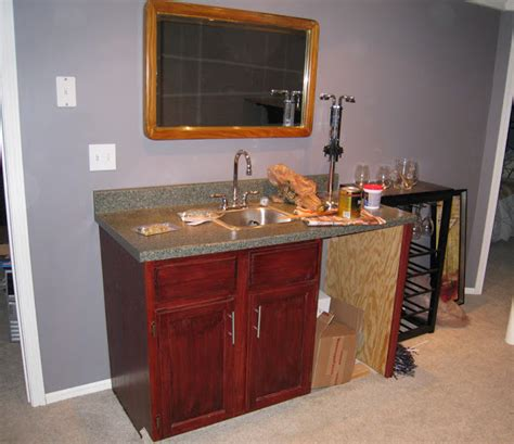 home depot bar sink cabinet decorating obsessed the bar project