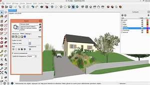 dessiner une maison en 3d gratuit 3 tuto gratuit With creer sa maison en 3d 3 tuto gratuit dessiner sa maison avec sketchup avec