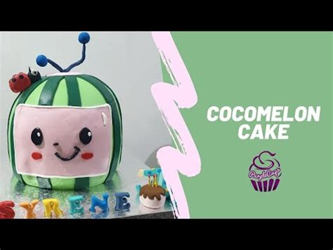 2nd birthday party for boys baby birthday decorations birthday ideas birthday cakes watermelon birthday parties first birthdays princess cakes pink princess melon cake. Cocomelon Cake - YouTube